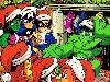 Free Comics Wallpaper : Super-Hero Squad - Christmas