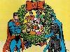Free Comics Wallpaper : Superman and Batman - Christmas