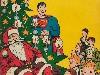 Free Comics Wallpaper : Superman and Santa Claus