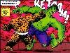 Free Comics Wallpaper : Thing vs Hulk (by Jim Starlin)