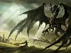 Free Fantasy Wallpaper : Black Dragon