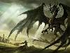Free Fantasy Wallpaper : Black Dragon
