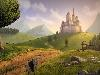 Free Fantasy Wallpaper : Castle on the Hill