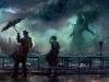 Free Fantasy Wallpaper : Cthulhu - Rain