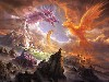 Free Fantasy Wallpaper : Clash of Gods