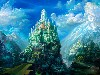 Free Fantasy Wallpaper : Colorful Castle