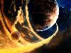 Free Fantasy Wallpaper : Cosmic Flames
