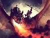 Free Fantasy Wallpaper : Dragonrider (by Jason Chan)