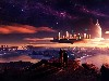 Free Fantasy Wallpaper : Floating City