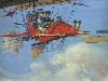 Free Fantasy Wallpaper : Flying Machine