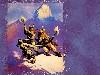 Free Fantasy Wallpaper : Frank Frazetta - Fight