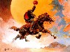 Free Fantasy Wallpaper : Frank Frazetta - Headless Horseman