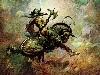 Free Fantasy Wallpaper : Frank Frazetta - Horseman
