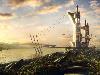Free Fantasy Wallpaper : Future Harbour
