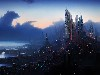 Free Fantasy Wallpaper : Future Metropolis