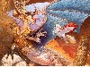 Free Fantasy Wallpaper : Golden Dragon