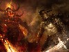 Free Fantasy Wallpaper : Good vs Evil