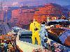 Free Fantasy Wallpaper : Grand Canyon - Retro Future