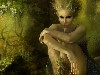 Free Fantasy Wallpaper : Green Fairy