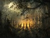 Free Fantasy Wallpaper : Halloween - Gathering
