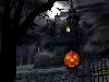 Free Fantasy Wallpaper : Halloween - Haunted House