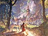 Free Fantasy Wallpaper : Hildebrandt - The Wizard Glade