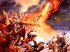 Free Fantasy Wallpaper : Jeff Easley - Epic Battle