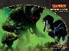 Free Fantasy Wallpaper : Magic the Gathering - Devouring Strossus