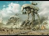 Free Fantasy Wallpaper : Mechanical Warfare