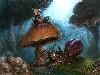Free Fantasy Wallpaper : Mushroom Bard