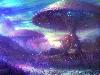 Free Fantasy Wallpaper : Mushroom City
