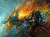 Free Fantasy Wallpaper : Orc - Dragon Rider