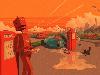 Free Fantasy Wallpaper : Robot - Poet