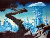 Free Fantasy Wallpaper : Roger Dean - Freyjas Castle