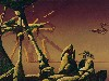 Free Fantasy Wallpaper : Roger Dean - The Pier