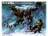 Free Fantasy Wallpaper : Ronom Hulk