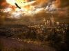 Free Fantasy Wallpaper : Sepia Future