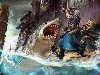 Free Fantasy Wallpaper : Shark Attack