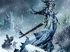 Free Fantasy Wallpaper : Snow Witch