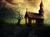 Free Fantasy Wallpaper : Spooky House