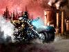 Free Fantasy Wallpaper : Steampunk Motorcycle