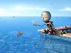 Free Fantasy Wallpaper : The Robot and the Fish