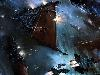 Free Fantasy Wallpaper : Warhammer 40K - Space Battle