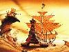 Free Fantasy Wallpaper : Weird Ship