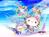 Free Games Wallpaper : Hello Kitty World