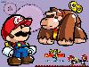 Free Games Wallpaper : Mario vs Donkey Kong 2