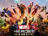 Free Games Wallpaper : Marvel Heroes Omega