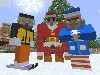 Free Games Wallpaper : Minecraft - Christmas