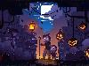 Free Games Wallpaper : Minecraft - Halloween
