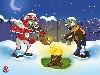 Free Games Wallpaper : Plants vs. Zombies - Christmas